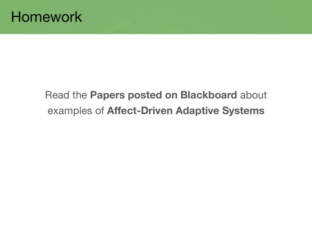 Homework Read the Papers posted on Blackboard a...