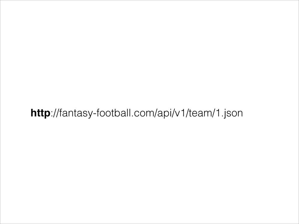 http://fantasy-football.com/api/v1/team/1.json