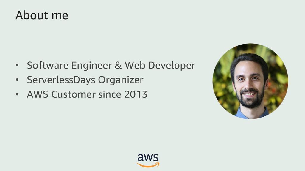 • Software Engineer & Web Developer • Serverles...