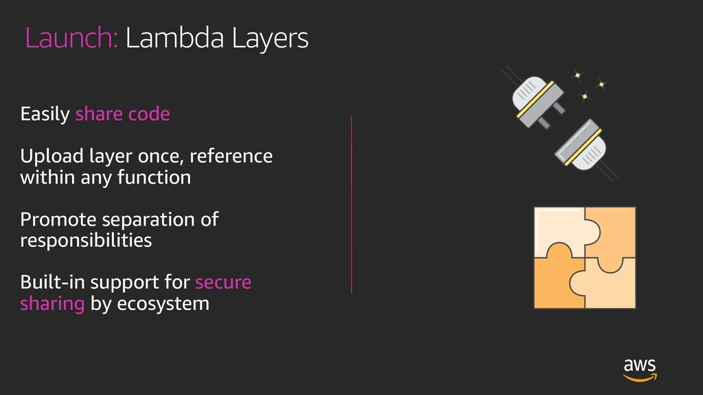 Launch: Lambda Layers Easily share code Upload ...