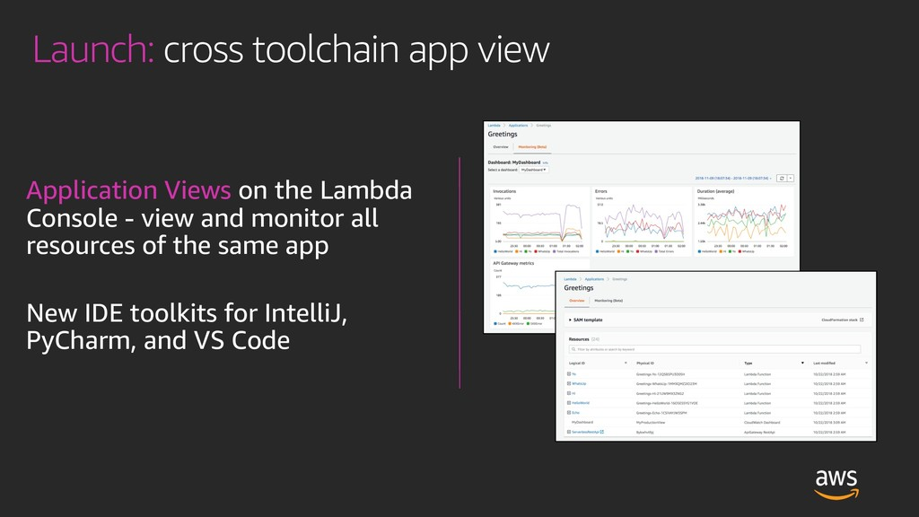 Launch: cross toolchain app view Application Vi...