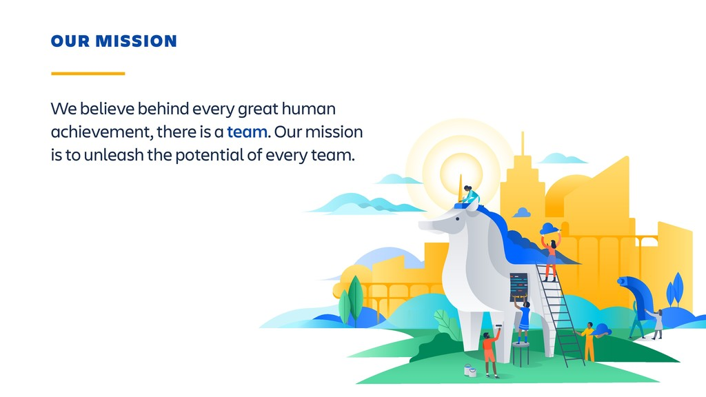 We believe behind every great human achievement...