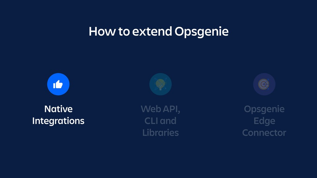 Native Integrations Web API, CLI and Libraries ...