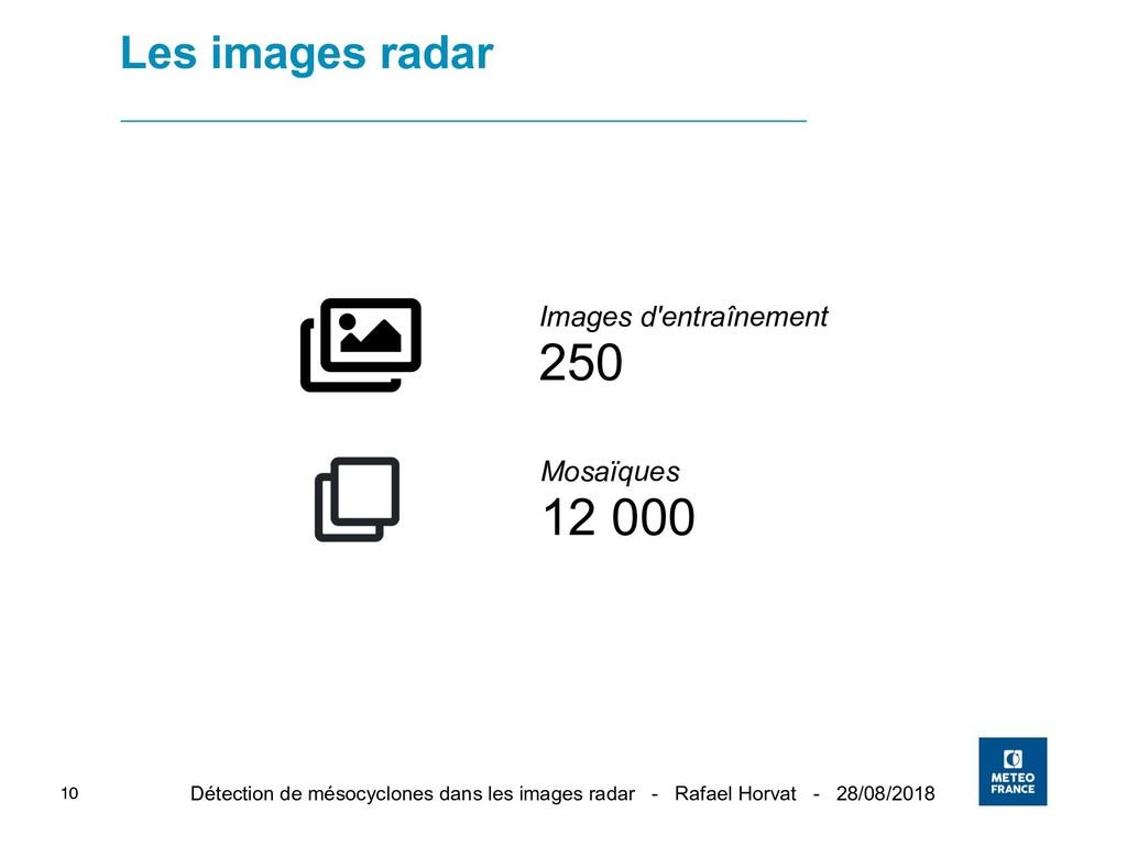 Détection de mésocyclones dans les images radar...