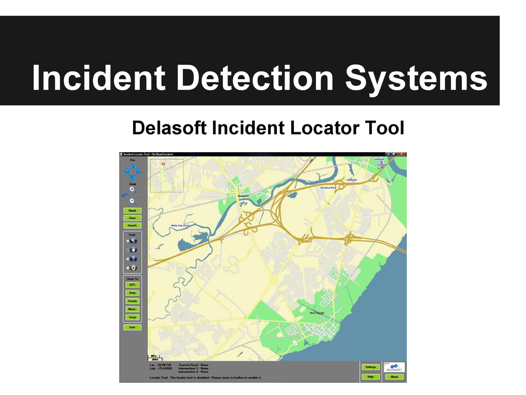Incident Detection Systems Delasoft Incident Lo...