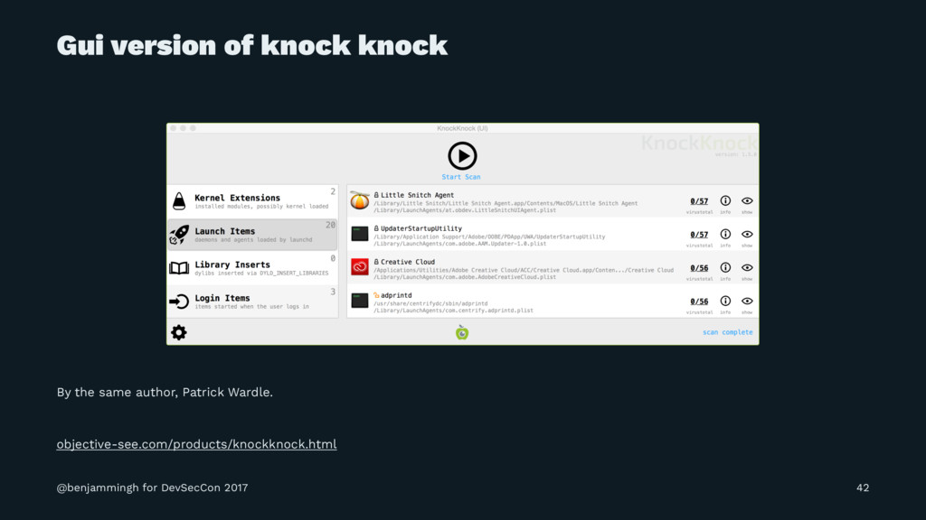 Gui version of knock knock By the same author, ...