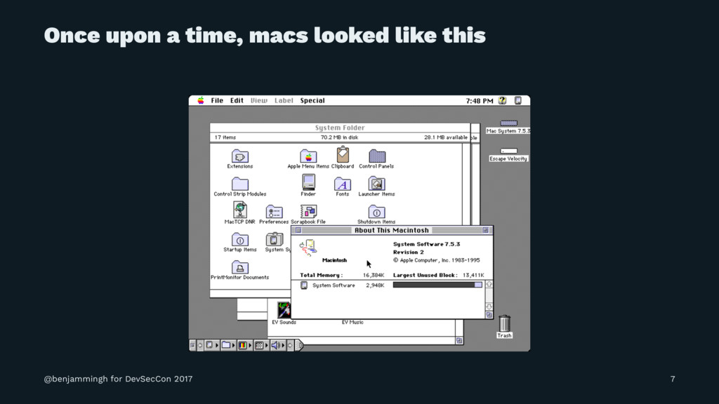 Once upon a time, macs looked like this @benjam...