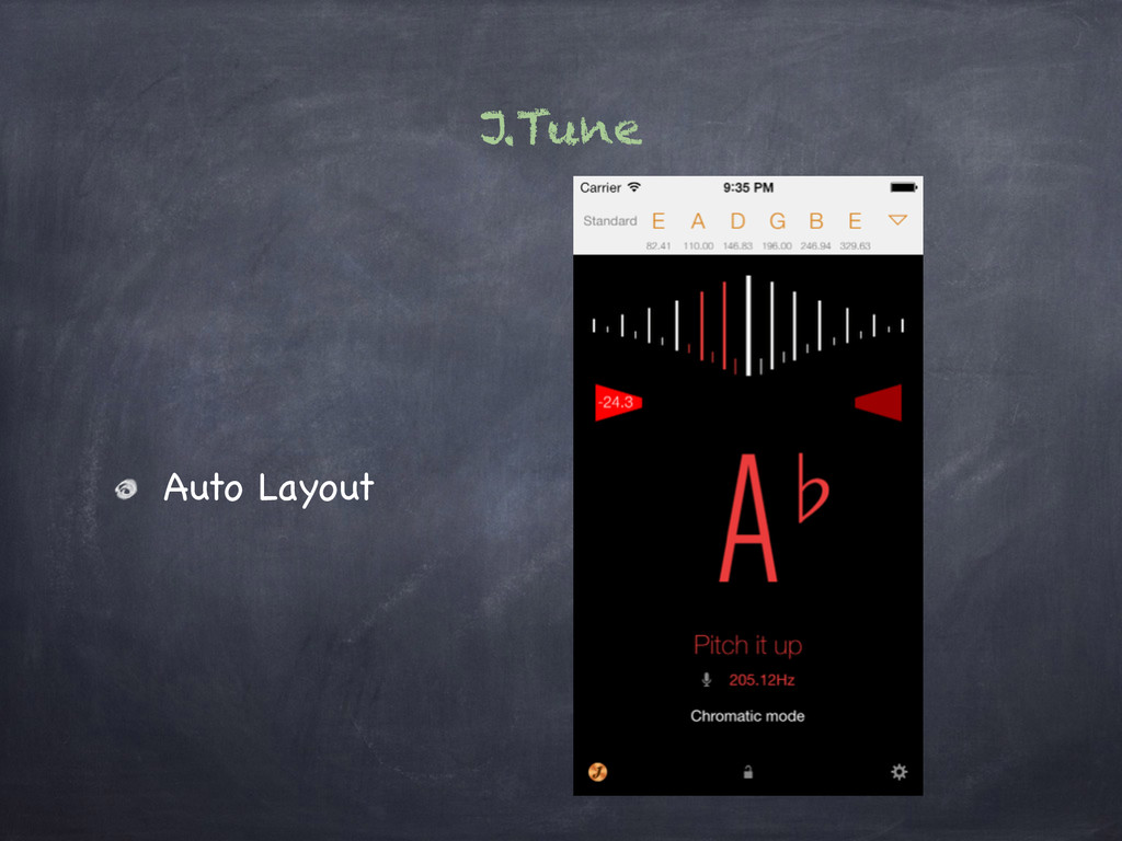 J.Tune Auto Layout