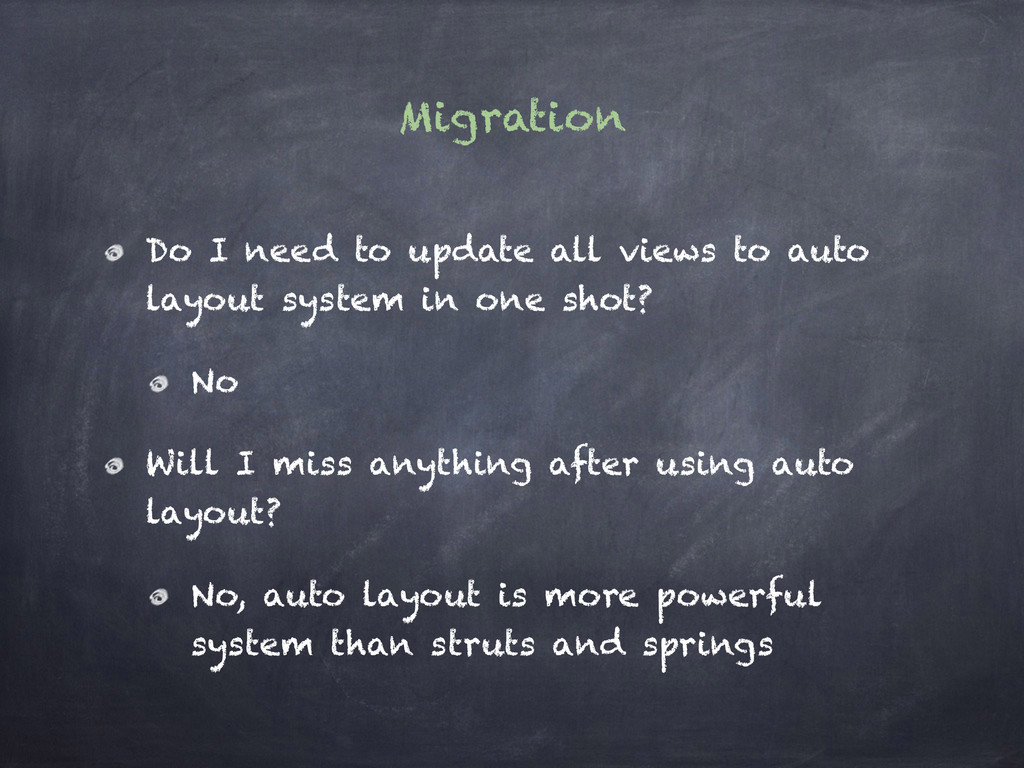 Migration Do I need to update all views to auto...