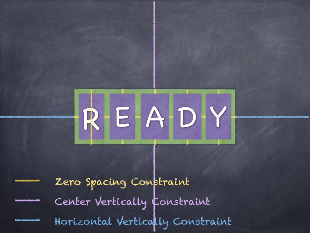 R Y D A E Zero Spacing Constraint Center Vertic...