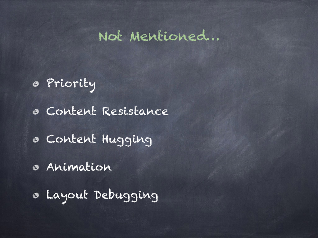 Not Mentioned… Priority Content Resistance Cont...