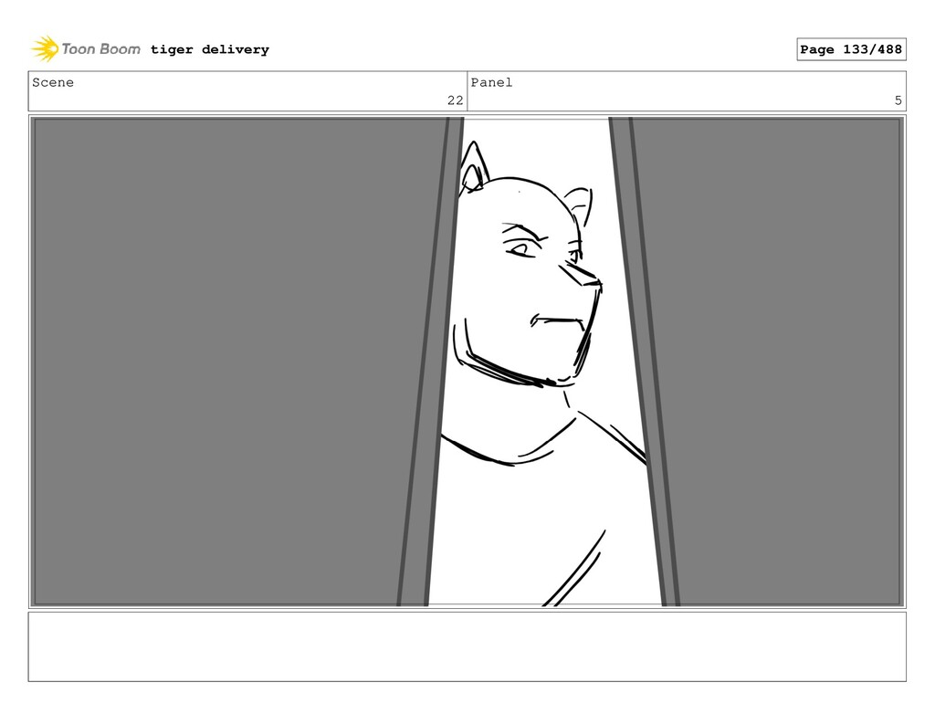 Scene 22 Panel 5 tiger delivery Page 133/488