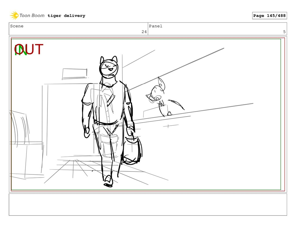 Scene 24 Panel 5 tiger delivery Page 145/488