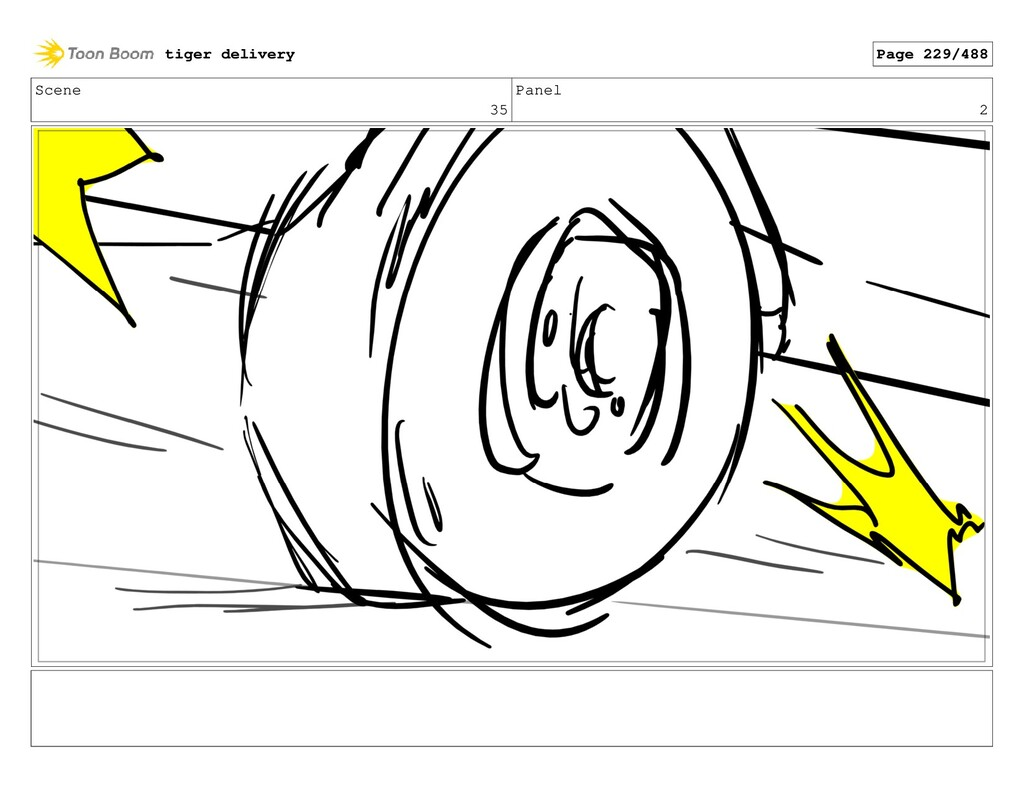 Scene 35 Panel 2 tiger delivery Page 229/488