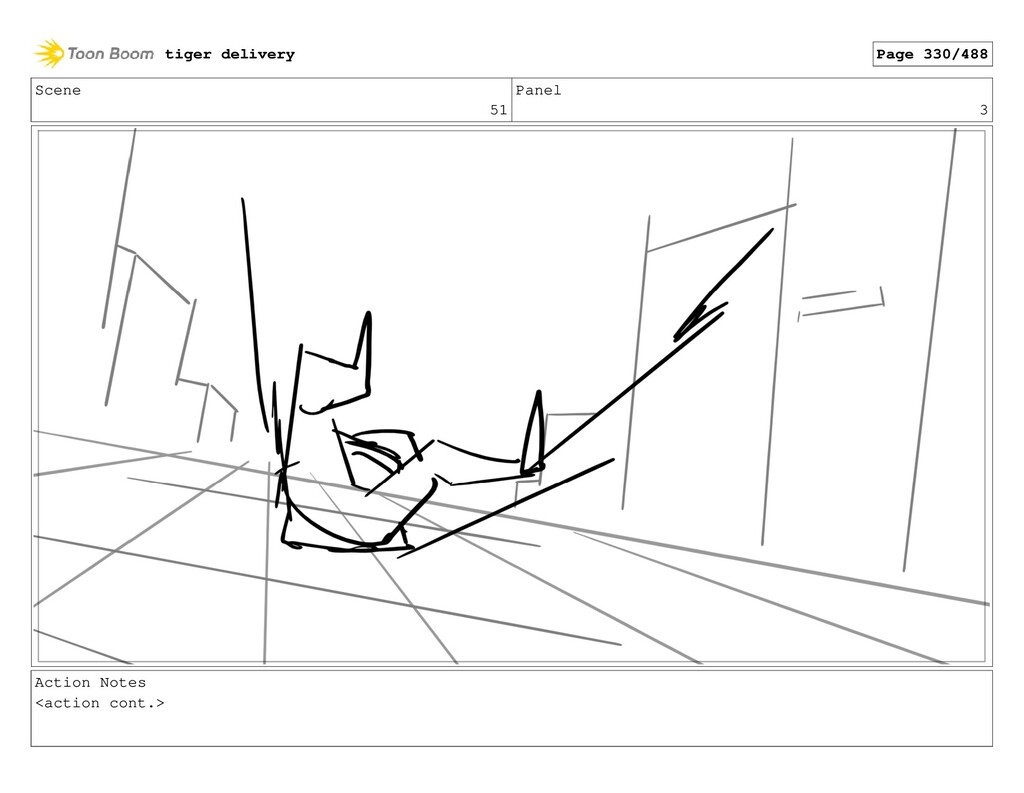 Scene 51 Panel 3 Action Notes <action cont.> ti...