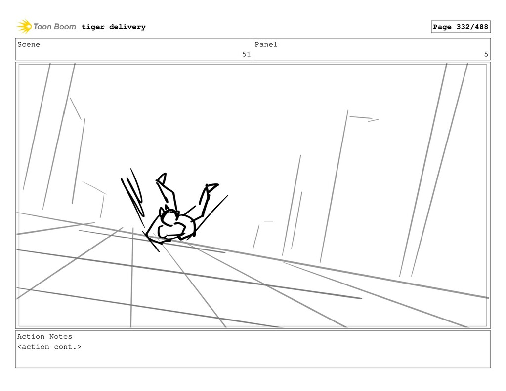 Scene 51 Panel 5 Action Notes <action cont.> ti...