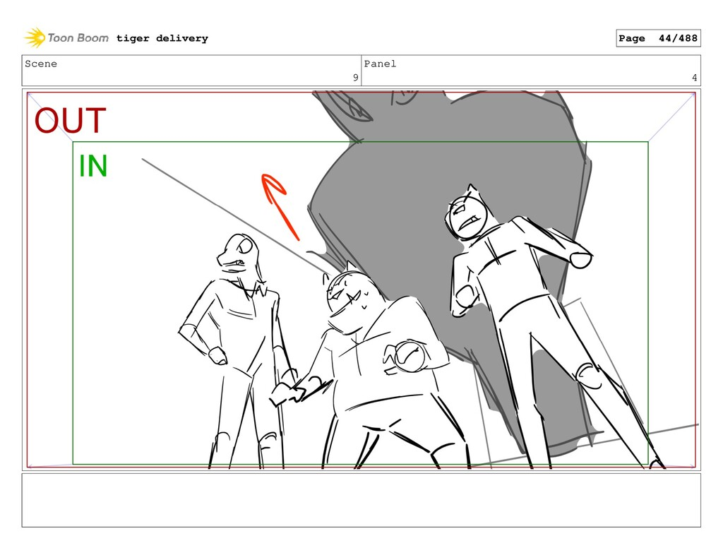 Scene 9 Panel 4 tiger delivery Page 44/488