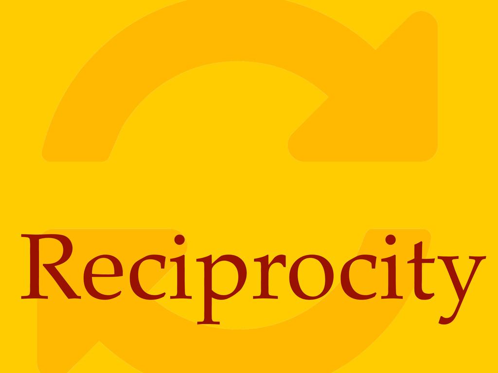 ! Reciprocity