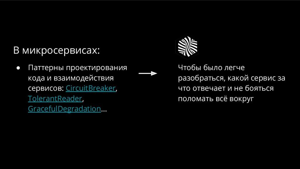 ● Паттерны проектирования кода и взаимодействия...