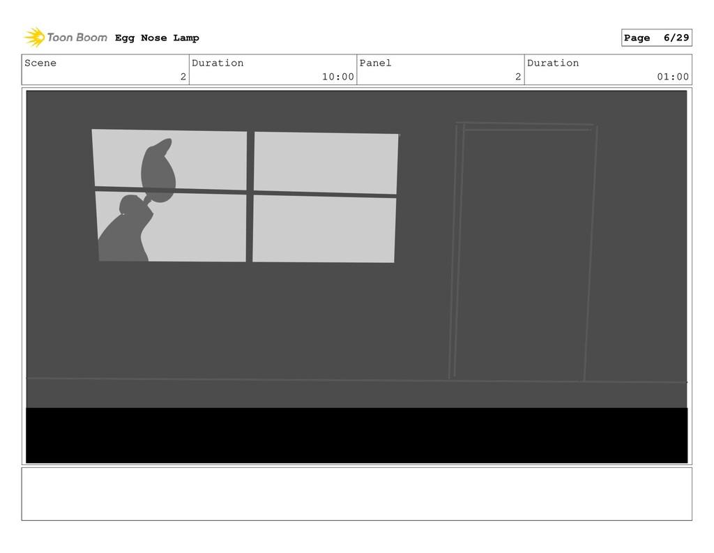 Scene 2 Duration 10:00 Panel 2 Duration 01:00 E...