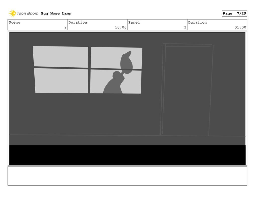 Scene 2 Duration 10:00 Panel 3 Duration 01:00 E...