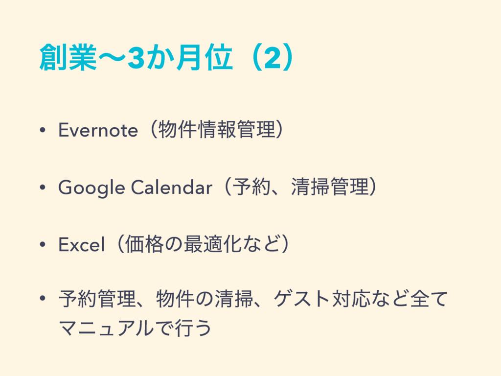 ۀʙ3͔݄Ґʢ2ʣ • Evernoteʢ݅ใཧʣ • Google Calendar...