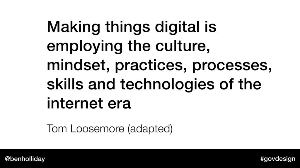 @benholliday #govdesign Making things digital i...