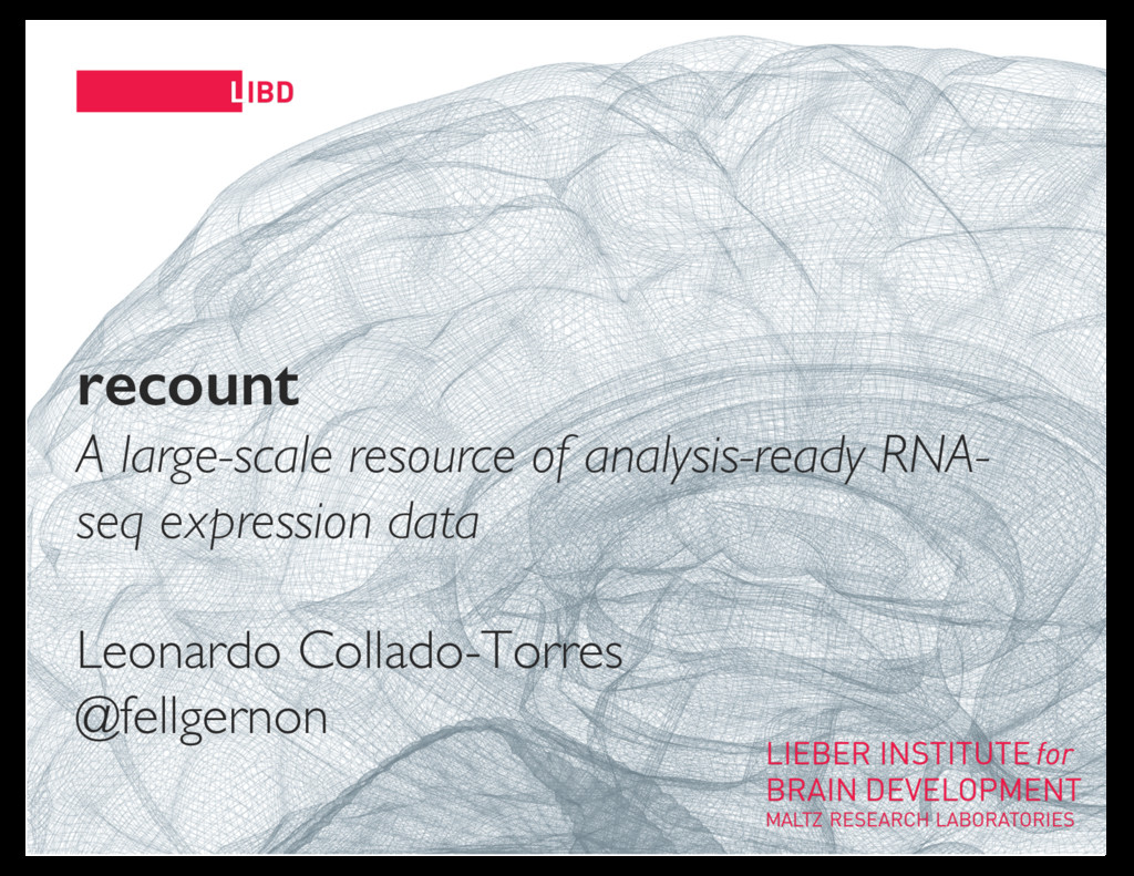11 recount A large-scale resource of analysis-r...
