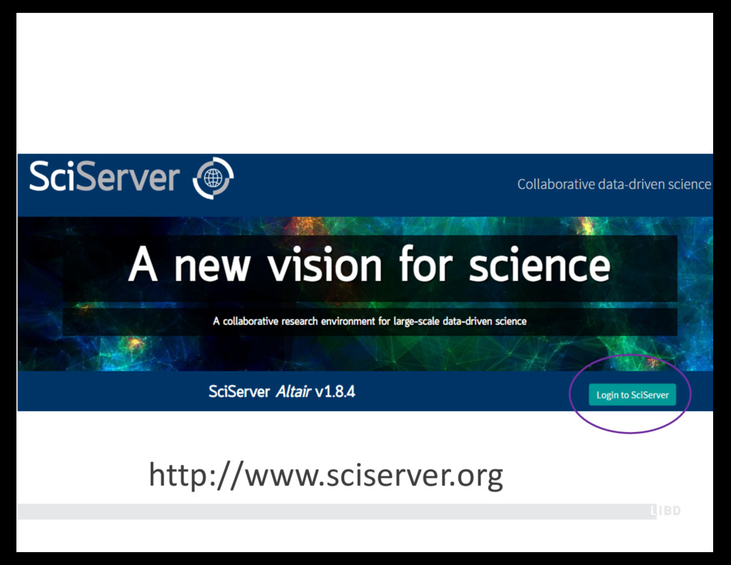 http://www.sciserver.org
