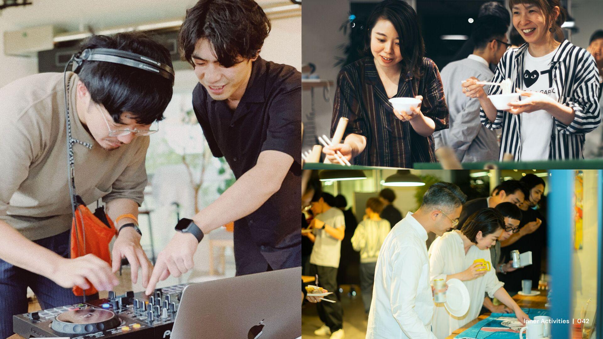 Inner Activities ࣾߦɾརްੜɾ֤छ੍ ຖ݄։࠵͞Ε͍ͯΔνʔϜձͳͲ...