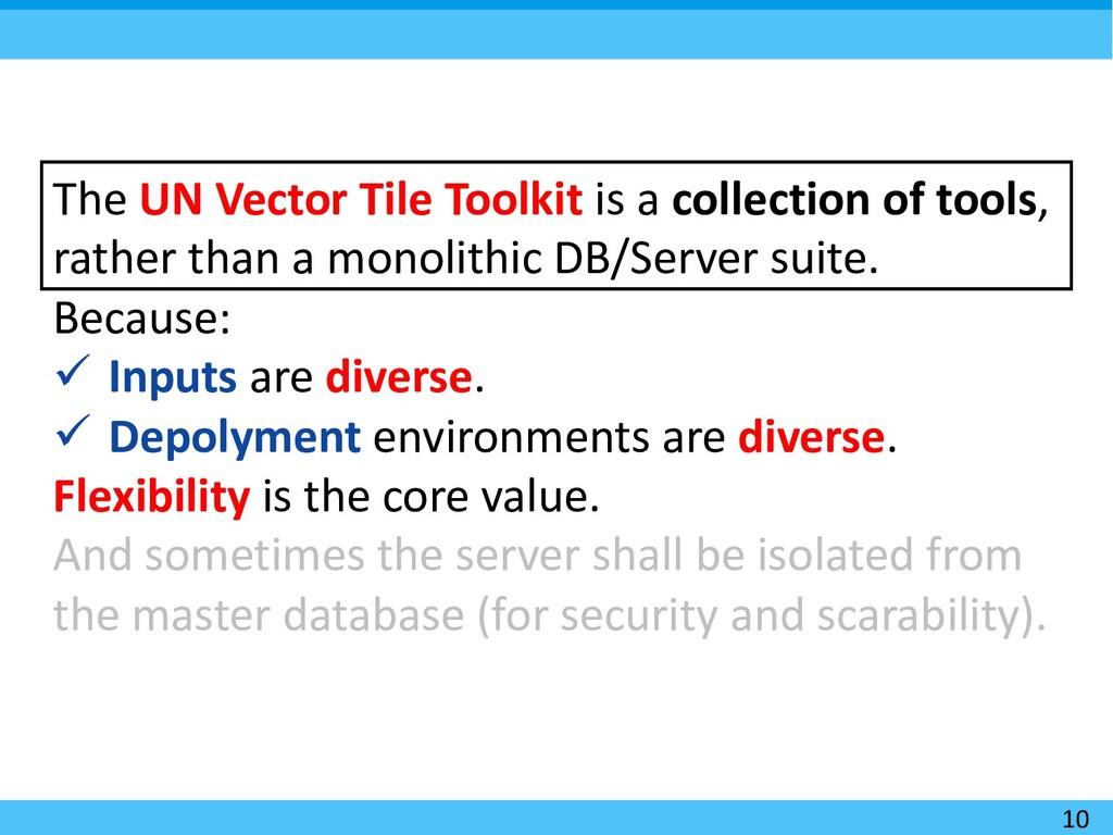 10 The UN Vector Tile Toolkit is a collection o...