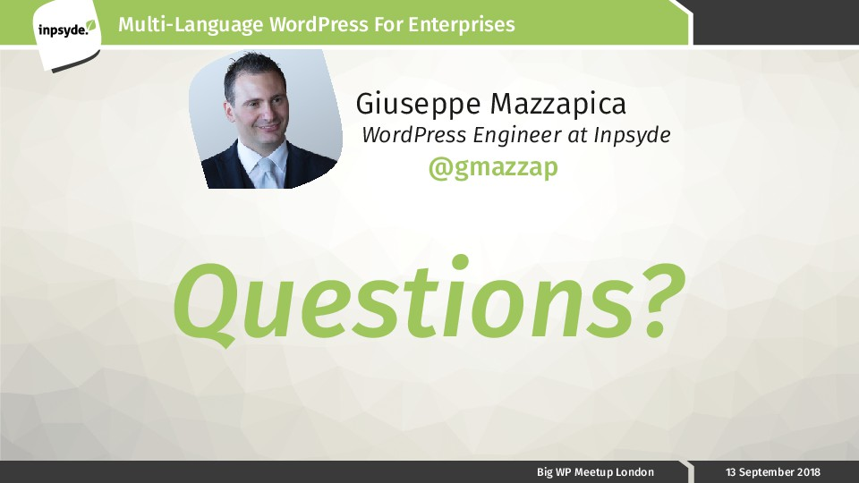 Multi-Language WordPress For Enterprises Big WP...