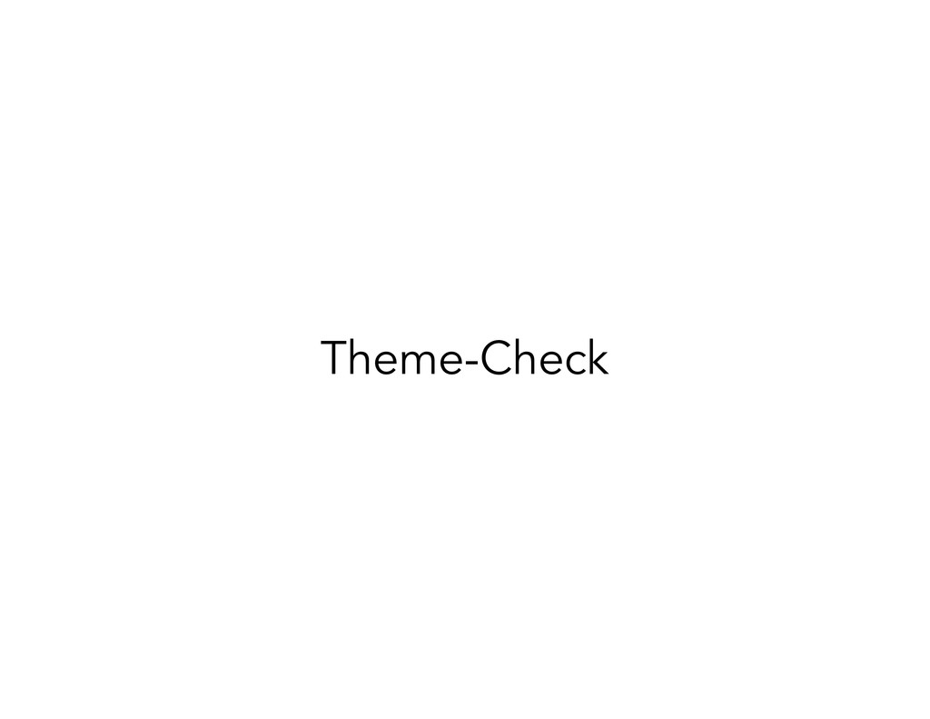 Theme-Check