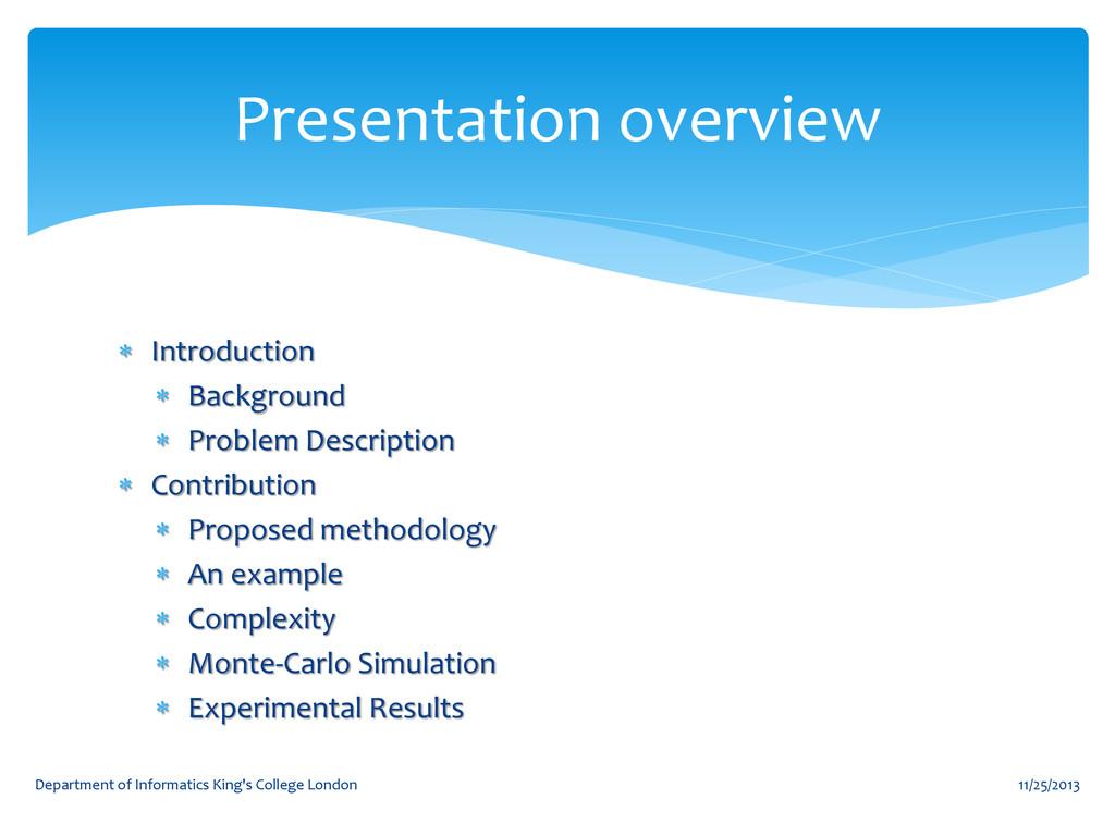  Introduction  Background  Problem Descripti...
