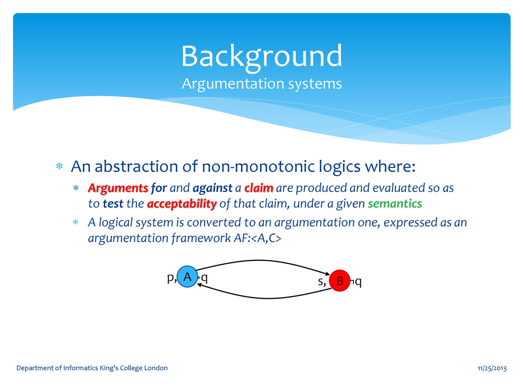  An abstraction of non-monotonic logics where:...