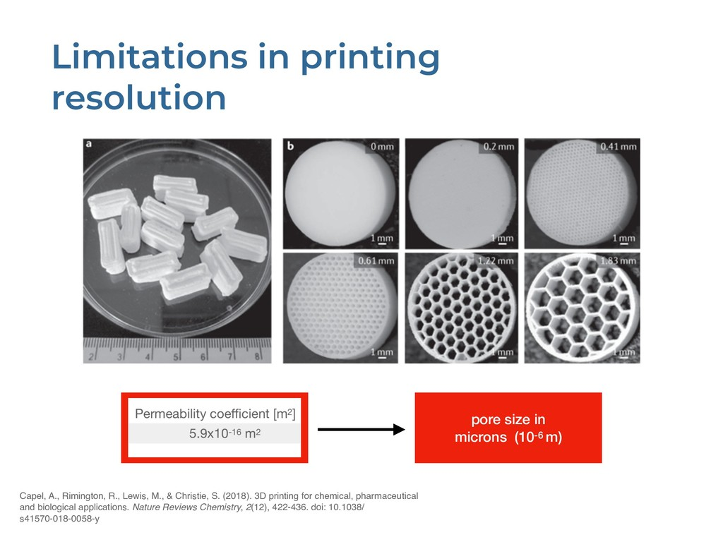 Limitations in printing resolution Capel, A., R...