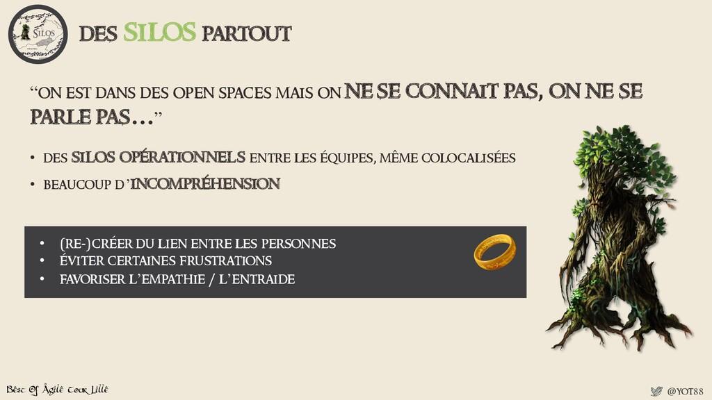 Best Of Agile Tour Lille @yot88 • des silos opé...