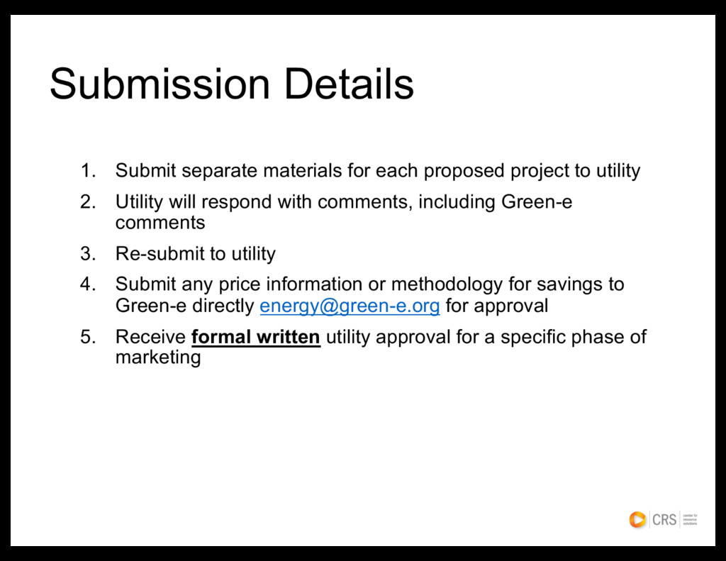 Submission Details 1. Submit separate materials...