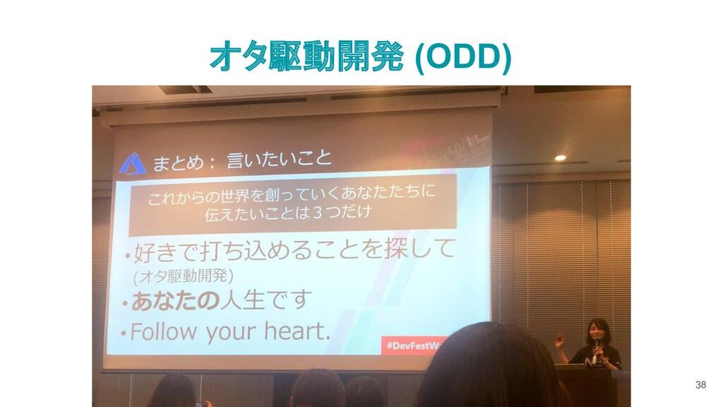 オタ駆動開発 (ODD) 38
