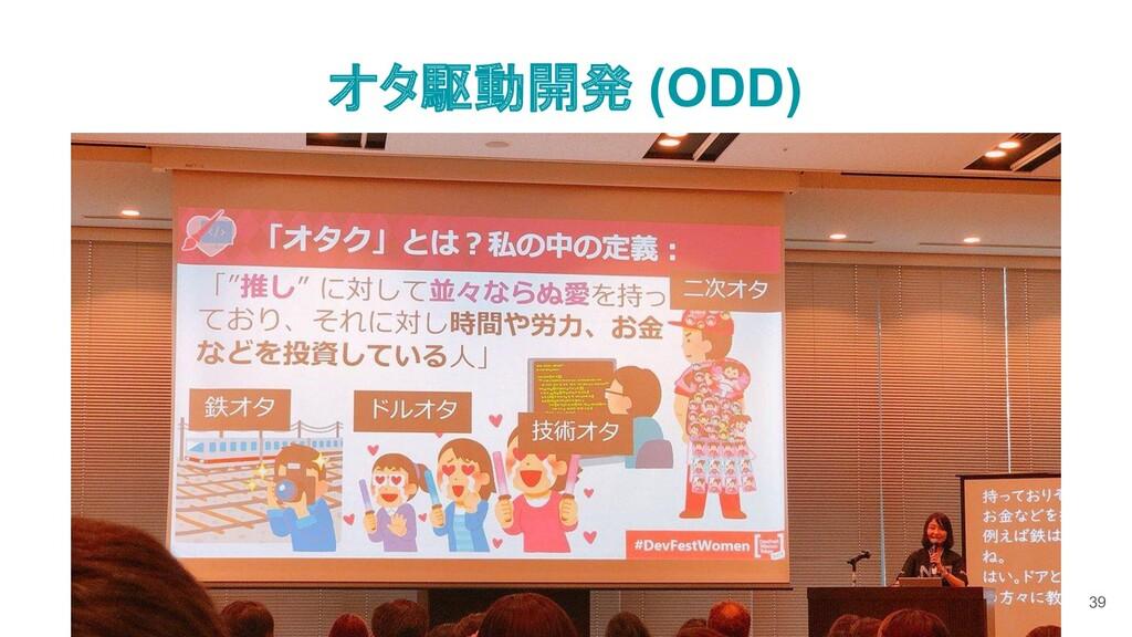 オタ駆動開発 (ODD) 39