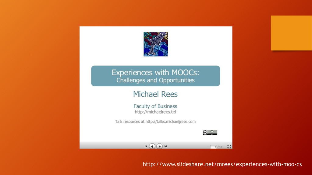 http://www.slideshare.net/mrees/experiences-wit...
