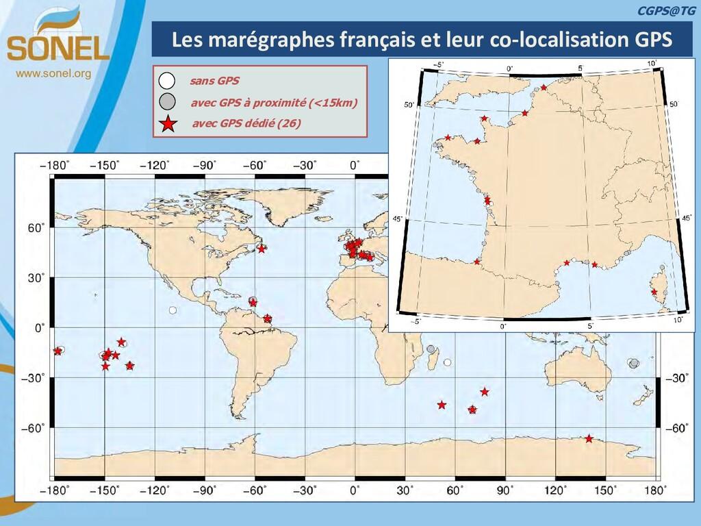 www.sonel.org Les marégraphes français et leur ...