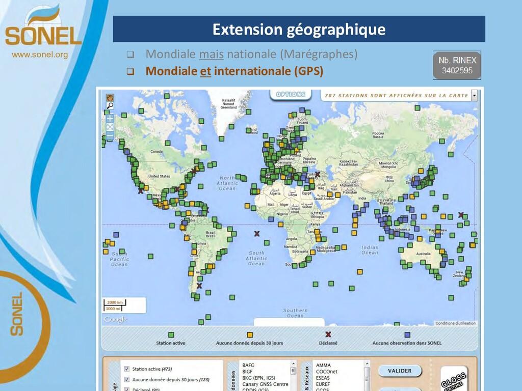 www.sonel.org  Mondiale mais nationale (Marégr...