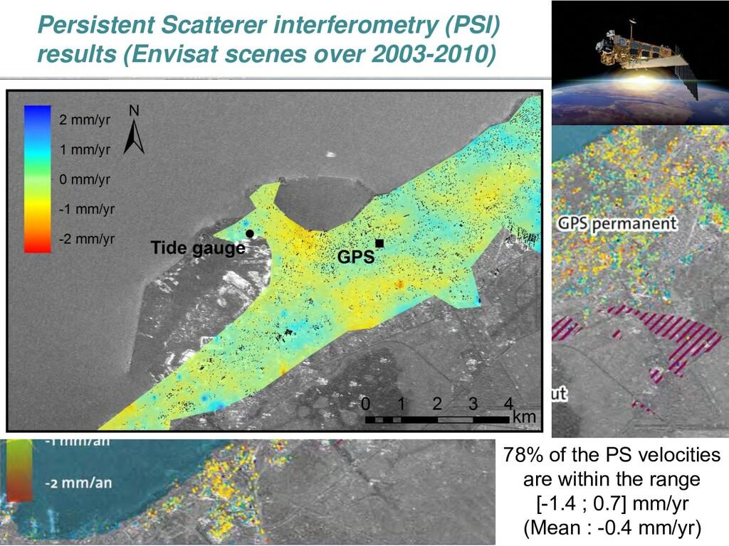 > 26 Persistent Scatterer interferometry (PSI) ...