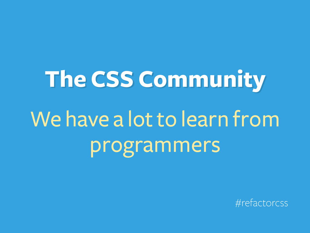 We have a lot to learn from programmers #refact...