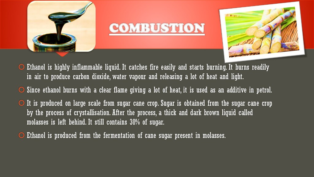  Ethanol is highly inflammable liquid. It catc...