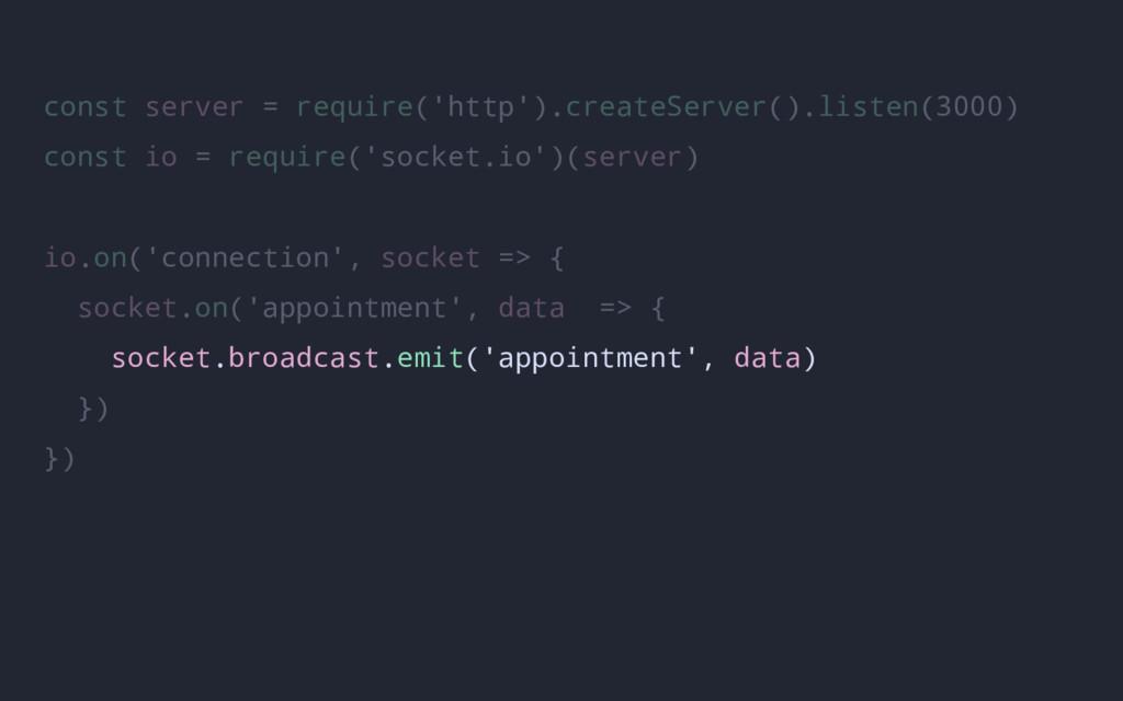 const server = require('http').createServer().l...