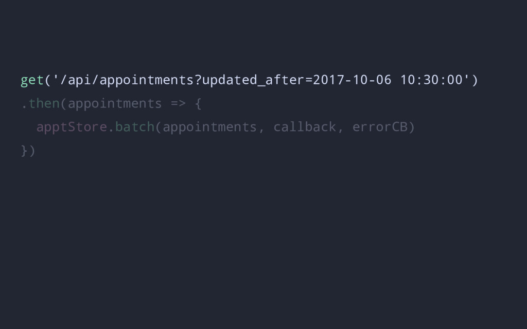 get('/api/appointments?updated_after=2017-10-06...