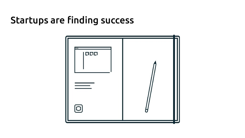 Startups are finding success