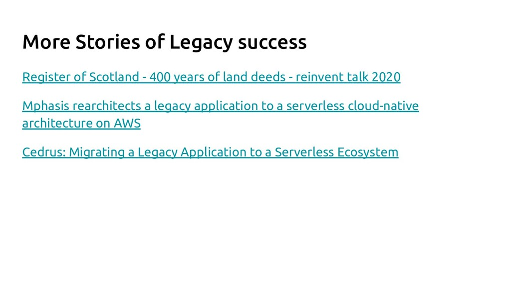 More Stories of Legacy success Register of Scot...
